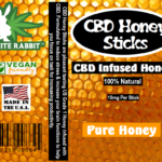 CBD Honey Sticks Infused CBD Honey