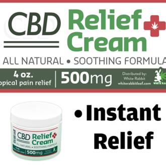 CBD Gummy Bears Candy | Anxiety and Pain CBD | White Rabbit